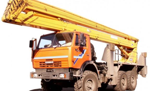 Автовышка КамАЗ 6629